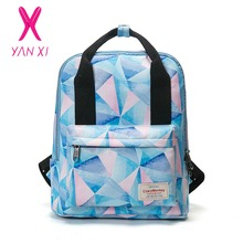 YANXI 2017 New Hot Selling School Bags For College Style  Backpack Male And Female Generic High Quality Canvas Leisure Backpack