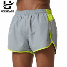 Uskincare Shorts Men Sports Shorts Running Loose Short Pants Gray Breathable Quick Dry Fitness Gym Homme Plus Shorts M16L224R