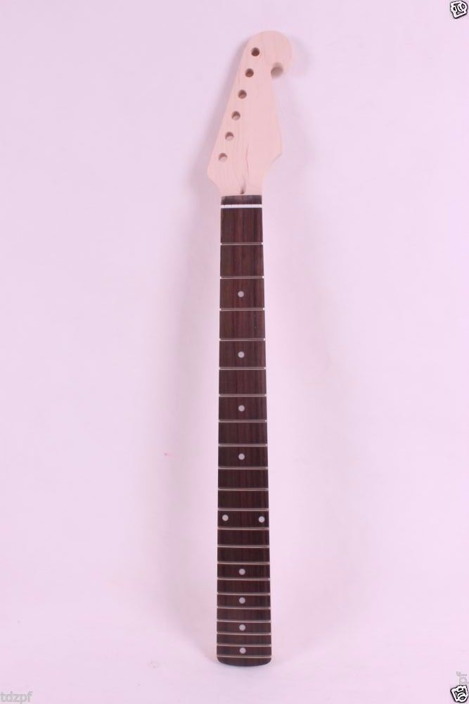 maple electric guitar neck Mahogany Rosewood 25.5 Right Hand 22 Fret<br>