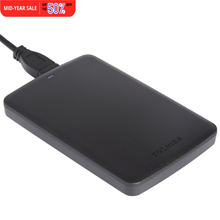 "Toshiba HDD Portable External Hard Disk Drive Mobile Canvio Basics USB 3.0 2.5"" 2TB HDTB320YK3CA For Desktop Laptop Computer PC"