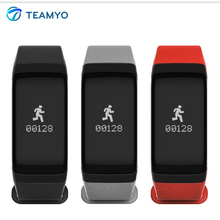 Teamyo 2017 Newest F1 Bluetooth Smart Bracelet Blood Pressure Blood Oxygen Heart Rate Monitor Pedometer Smart band For Gift