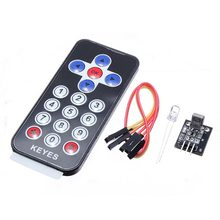 Buy 1Set Infrared Wireless Remote Control IR Receiver Module DIY Kits HX1838 MP3 Arduino Raspberry Pi Integrated Circuits for $2.17 in AliExpress store