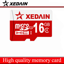 New High Quality Guaranteed Micro SD Card Full Capacity SD TF Memory Card Xedain Class 10 8Gb 32GB 64GB For Phone Tablet 16GB C6(China)