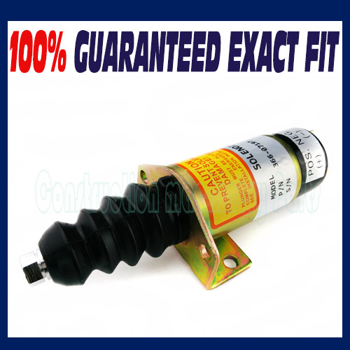 NEW FUEL SHUT OFF SOLENOID replace FOR LISTER PETTER Perkins 366-07197 SA-3405T<br>