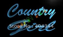 LB466- Country Girl Display LED Neon Light Sign(China)