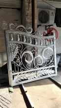 Shanghai China factory producing  wrought Iron gates custom design HC-Wg1