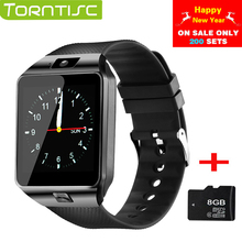 TORNTISC smart watches DZ09 passometer watch phone smart watch dz09 original support SIM TF Card 0.3MP Camera Multi Languages(China)