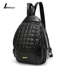 Ladies Pu Leather Knapsack Female Beautiful Backpack Women Personality Rucksack Bolsa Feminina Chic School Bags For Teenage Girl
