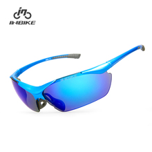 Buy INBIKE Polarized Cycling Glasses Bike Bicycle Riding Driving Sunglasses Men Cycling Eyewear UV Proof 5 Colors Goggles IG659 for $24.59 in AliExpress store