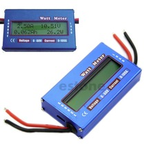 A96   Digital 60V/100A Battery Power Analyzer Watt Meter Balancer For DC RC Helicopter#XY#