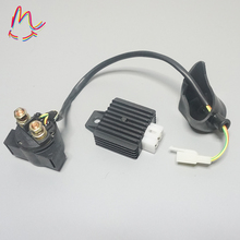 GY6 Scooter Voltage Regulator Rectifier Starter Relay Solenoid 50 70 90 110 125cc ATV Pit Dirt Bike Moped Taotao FREE SHIPPING