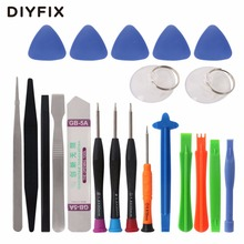 DIYFIX Mobile Phone Repair Tools Kit Spudger Pry Opening Tool Screwdriver Set for iPhone 7 6S 6 Samsung Phone Hand Tools Set