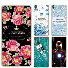 "Buy Soft TPU Silicon Coque Sony Xperia L1 Phone Cases Sony Xperia L1 5.5"" Ample Flowers Design Back Cover Case Sony L1 for $1.39 in AliExpress store"