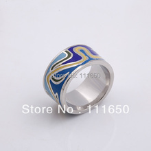 free shipping high quality newest european alloy enamel rings.1pcs