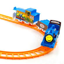 Thomas the Train Friends Motorized Battery Train Track Orbital Electric Train Rail Car Baby Children pista de carro brinquedos
