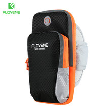 FLOVEME Sport Phone Arm band Case Running Jogging Bag Universal For All Moblie Phones 3.5- 6 Inch For iPhone 7 8 7 Plus 6 6 Plus(China)