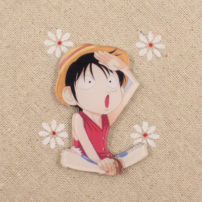 Anime ONE PIECE Tony Chopper Cosplay Acrylic Badges Monkey D. Luffy Brooch Pin Backpack Clothes Cute Decoration Brooches (3)