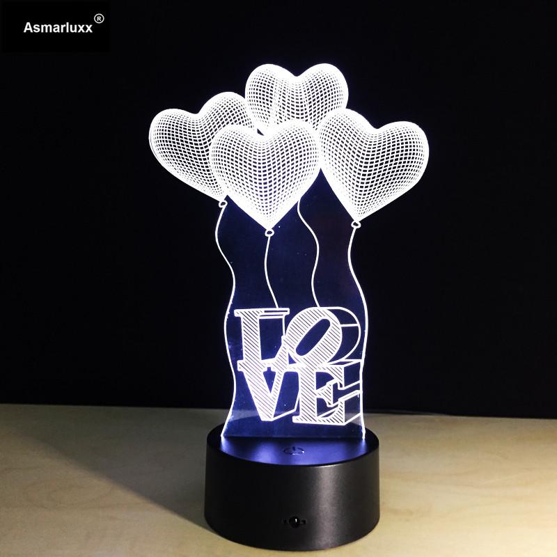 Asmarluxx 3D Night Lamp00406