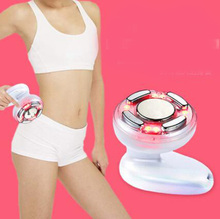 Portable Ultrasonic Body Slimming Massage Machine Cavitation Photon Radio Frequency RF therapy for Bod Weight Lose(China)