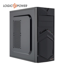 LOGIC POWER desktop Fashion game computer case New Arrivals 80mm FAN,CD-ROMx2,HDDx1,PCIx7,USBx2,SPCC Structure AUDIO In/Out 4207