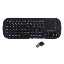 Portable 2.4G Mini Wireless Remote control Keyboard QWERTY Keyboard Mouse Touchpad For Windows & Mac OS Desktop PC IPTV Xbox 360(China)