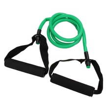 Natural Rubber Latex Fitness Resistance Band Exerciese Tube Rope Elastic Exercise Yoga Band Pilates Workout Fitness Equipment(China)