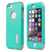 "New For Apple iPhone 6 6S 4.7"" Protect Case Cover Slim Hybrid Dual Layer Shockproof TPU Hard Phone Cases w/Screen Protector+Pen"