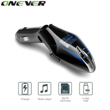 Car Mp3 Player Wireless FM Transmitter 3 Colors LCD Screen Car Audio MP3 Player  Music Player FM Modulator With Remote