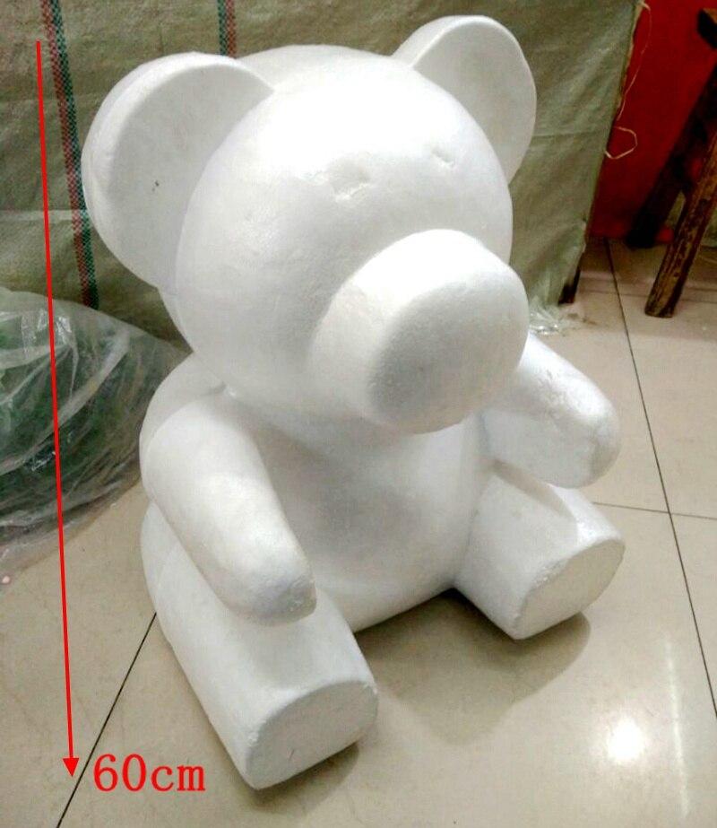 Медведь из пенопласта своими руками 25
