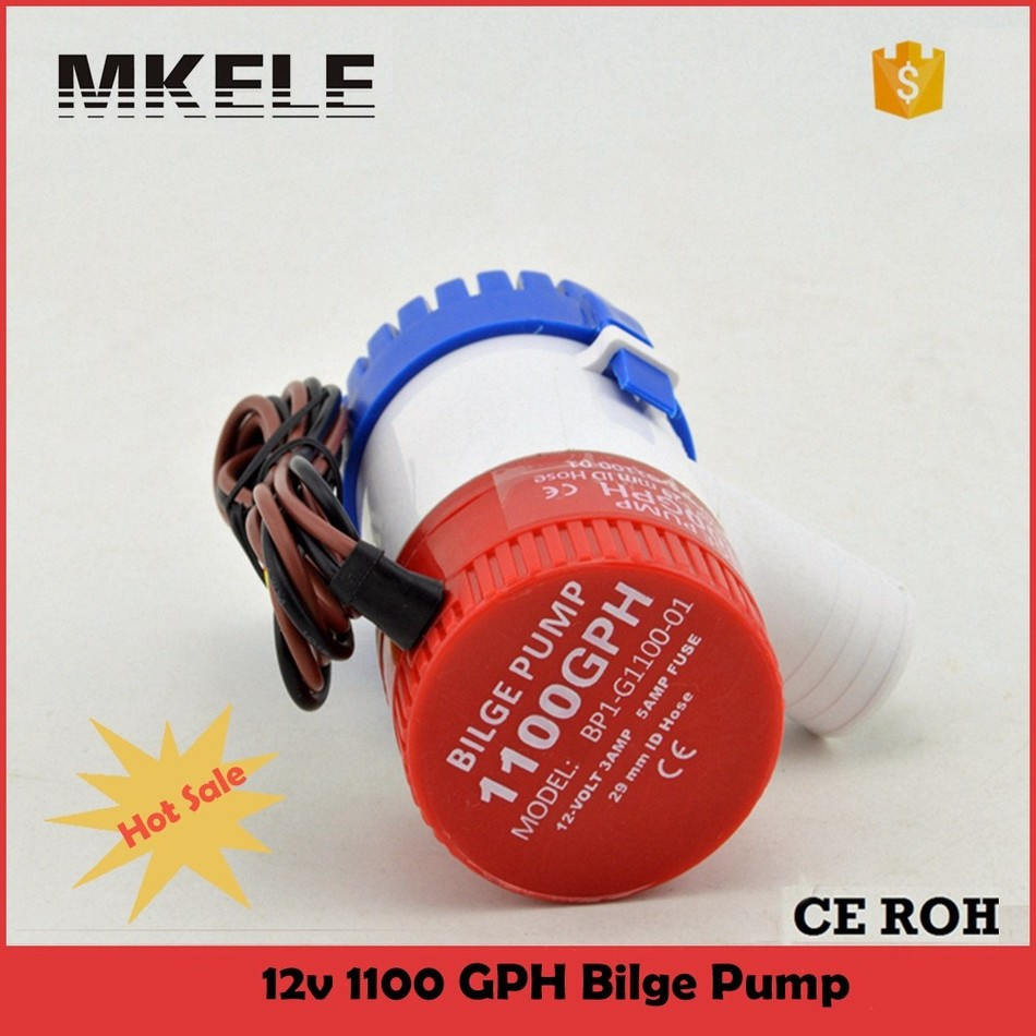 Hot Sale MKBP-G1100-12 Rule 1100 Gph 12V Water Pump Bilge Switch Used In Boat Seaplane Motor Homes Houseboat Submersible<br><br>Aliexpress