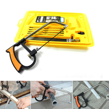 8 in 1 Magic Saw Multi Purpose Hand DIY Steel Saw For Metal Wood Plastic Saw Kit With 6 Blades Woodworking Metalworking(China)