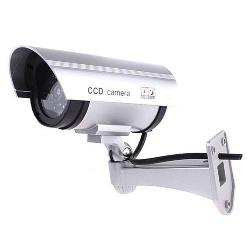 Dummy Dome Camera Fake CCTV Surveillance Battery Powered Safe Home Security UK