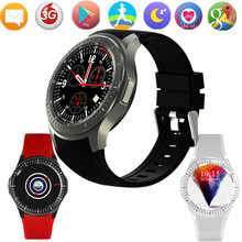 New DM368 Smart Watch IOS With App Download support bluetooth Heart Rate Tracker Whatsapp Clock phone with sim card PK KW88 KW99