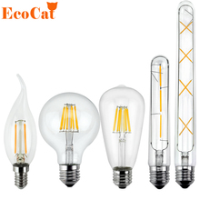 Low price LED Edison Bulb E27 Vintage bombillas LED Lamp 220V T185 T300 Retro Filament Light Candle Light Lamp 3W 6W 7W 8W