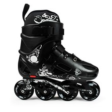 free shipping roller skates adult size 35--46 skate shoes
