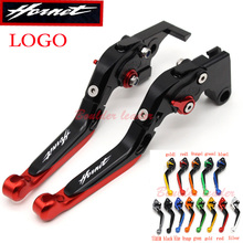 With New Logo (Hornet) For Honda CB 900 CB900 Hornet 2002 2003 2004 2005 2006 CNC Black Motorcycle Adjustable Brake Clutch Lever(China)