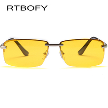 RTBOFY HD Night Vision Driver Glasses Men Oculos Goggles yellow Driving Glasses Man Polarized Sunglasses for Night gafas de sol(China)