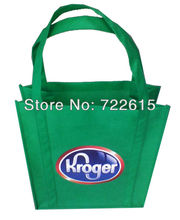 whole sale customized heat transfer printing non woven bags reusable tote bags promotional shopping bags(China)