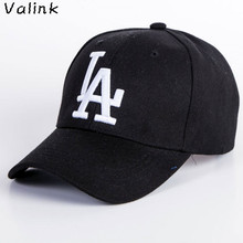 Valink New Fashion Baseball Hat Embroidery LA Printed Dance Street Hip Hop Cap Adjustable Summer Caps Sombrero Masculino