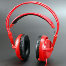Steelseries Siberia V2 200 red Gaming Headphone Noise Isolating Game Headphones Headset for Gamer