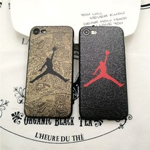 Fashion flyman Michael Jordan TPU Soft Rubber Silicon case For iphone 6 6s Plus 7 plus 5 5S SE matte cover capa fundas coque