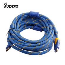 High Speed Long HDMI Cable 1.5m 3m 5m 10m 15m 20m Support 1080 4K 3D Ethernet for Xbox PS3 HDTV