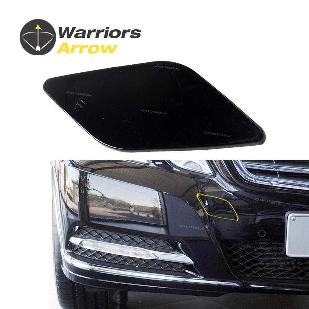 New Front Left Headlight Washer Cover Cap for Mercedes E-CLASS W212 10-13 Primed