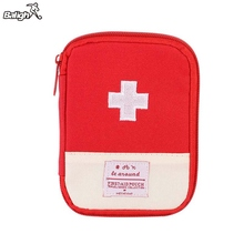 Outdoor Hiking First Aid Emergency Medical Survival Kit Wrap Gear Bag to Hunt Small Travel Medicine Kit(China)