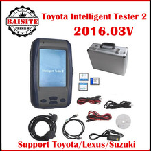 for Toyota Denso Intelligent Tester IT 2 V2017.01 for Toyota and for Lexus for Suzuki car diagnostic scanner with Oscilloscope