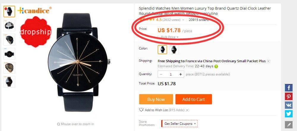 dropshipping Famous Brand Watches 2016 Fashion Casual Women Stainless 40mm Geneva Watch Relogio Men's Quartz Couple Clock