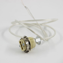 High Quality G9 lamp Base socket,  lampholder with 0.9m cord, DIY Lamp socket