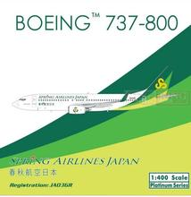 Pre sale: Phoenix 11220 Spring Airlines Japan Inc JA03GR 1:400 B737-800/w commercial jetliners plane model hobby(China)