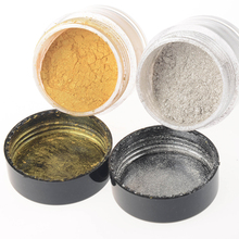 Gold Silver Mirror Nail Glitter Powder Gorgeous Manicure Nail Art Chrome Pigment Glitters(China)