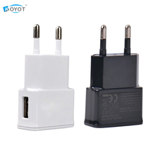 New EU plug Adapter 5V 2A EU USB Wall Charger Mobile phone charger for Galaxy S5 Note4 N9000 mobile phone charger fast charge